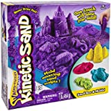 Kinetic Sand Sand Box & Molds Activity Set, Purple