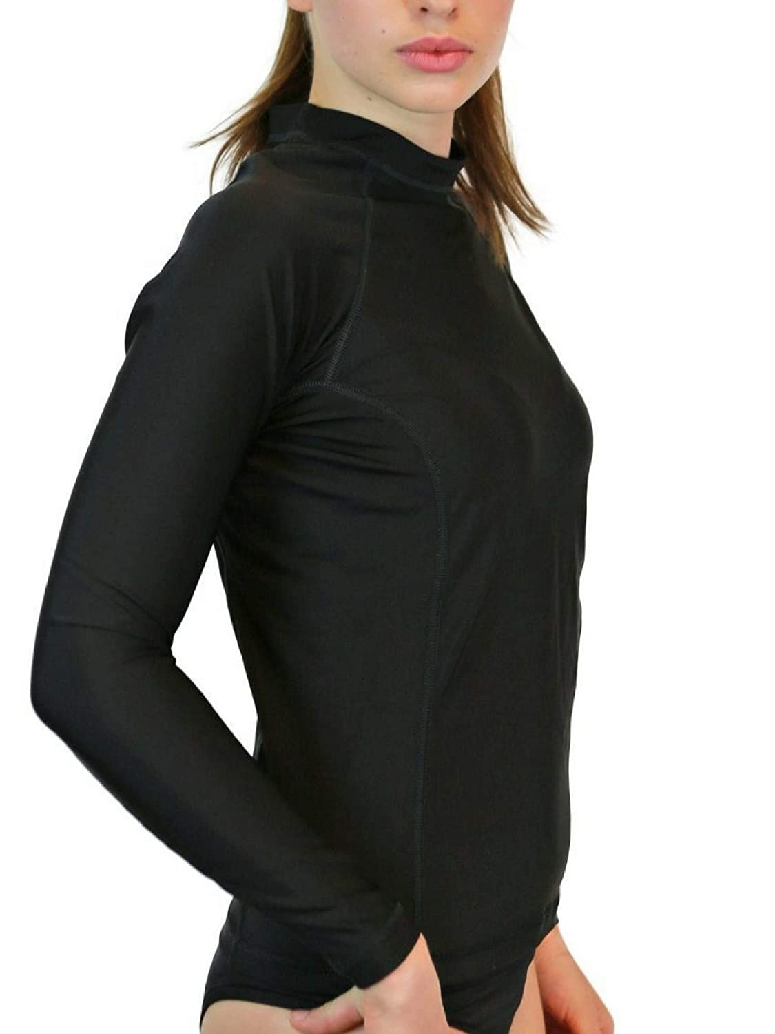 Swim Shirts For Women Uv 50 Sun Protection Long Sleeve Circuit Board Tshirts And Custom Clothing Rash Guard Swimsuit Tops With Spf Skin Made In Usa Sports Outdoors