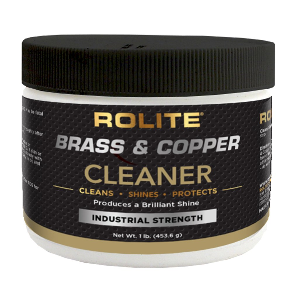 Brass & Copper Cleaner (1lb) Instant Cleaning & Tarnish Removal on Railings, Elevators, Fixtures, Hotels, Cruise Ships, Office Buildings