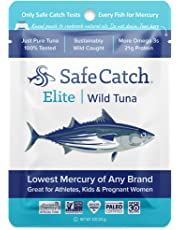 Safe Catch Elite Wild Tuna - 12 pack (3oz pouch)