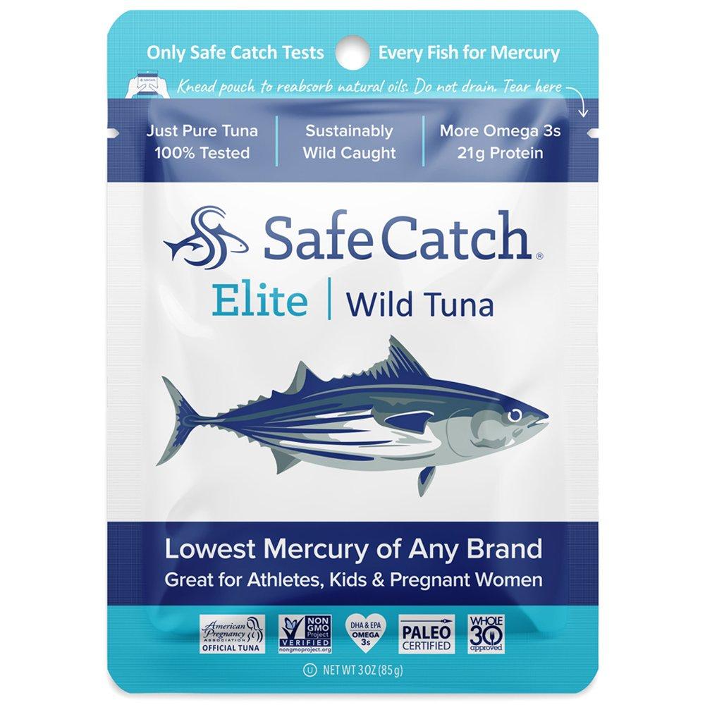 Safe Catch Elite Wild Tuna - 12 pack (3oz pouch) by Safe Catch
