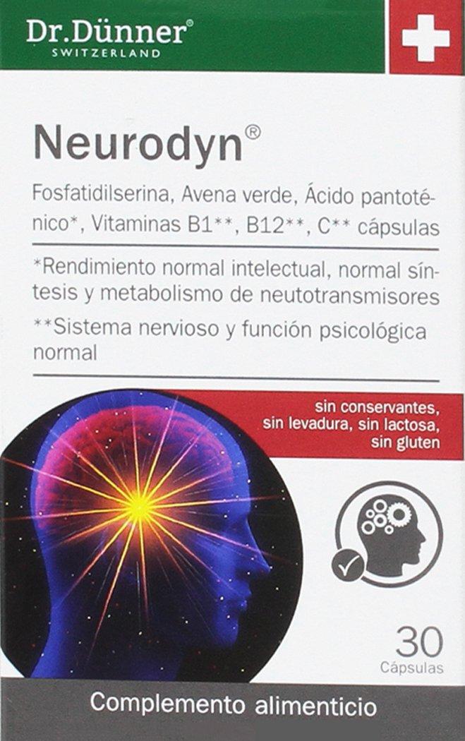 Dr. Dünner Neurodyn Complemento Alimenticio - 79 gr: Amazon.es: Salud y cuidado personal