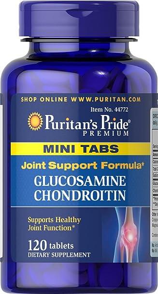 Amazon.com: Puritan s Pride Glucosamina Condroitina Mini ...