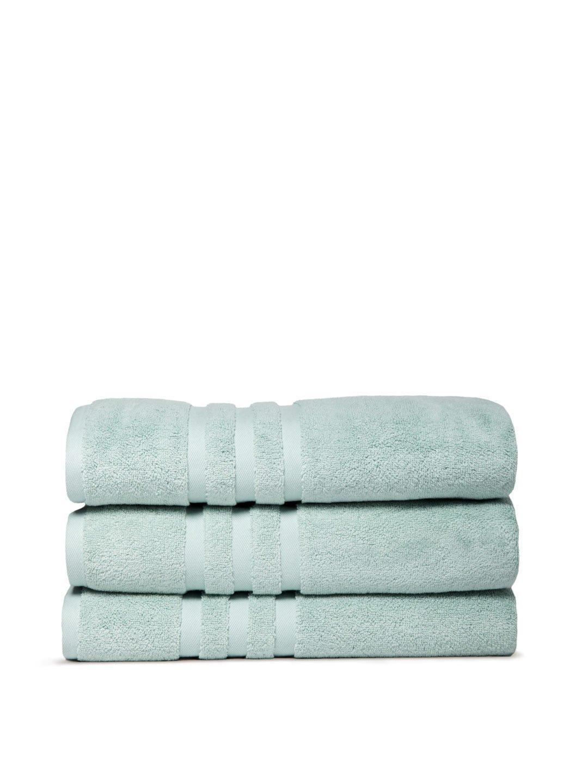 Chortex Irvington %100 Turkish Cotton Bath Towel, Set of 3 (Mineral)
