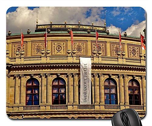 Mouse Pads - Czech Republic Prague Moldova Architecture 1 ()