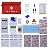 ZEVONDA 95 Piece First Aid Kit Bag Emergency Kit Bag Suitable for Home, Work, Travel, Holidays, Cars and Camping