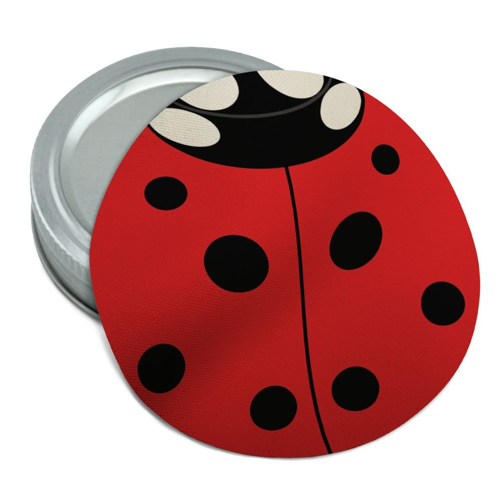 Lady Bug Ladybug Insect Round Rubber Non-Slip Jar Gripper Lid Opener Graphics and More