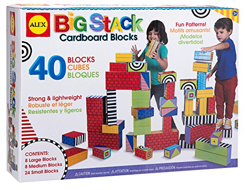 cardboard building blocks - 4