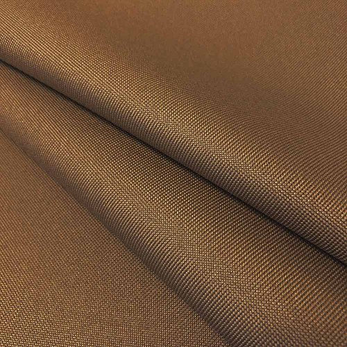 Ottertex Canvas Fabric Waterproof Outdoor 60 wide 600 Denier 15 Colors sold by the yard (5 YARD, Mocha)