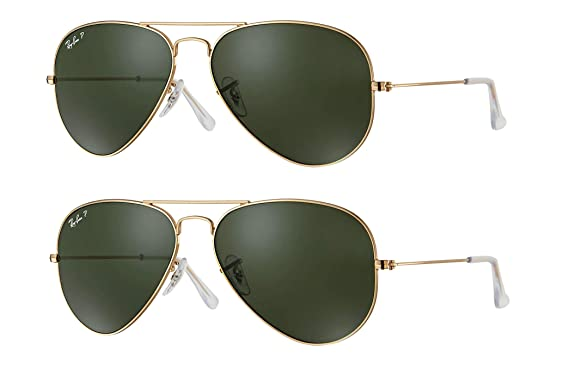 2b3f3220f Image Unavailable. Image not available for. Color: Ray-Ban Aviator Classic  RB3025 001/58 ...