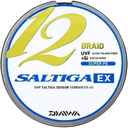 ダイワ UVFソルティガセンサーX12 EX+Si 3号 300m 5カラー(カラーマーキング付)の画像