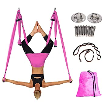XB AMZ Antena Yoga Pilates Swing Hamaca Antigravedad ...
