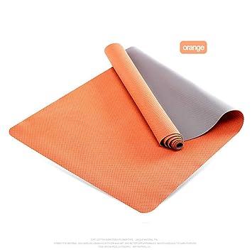 ZLJPP Colchoneta De Yoga Multifuncional Plegable Fibra ...