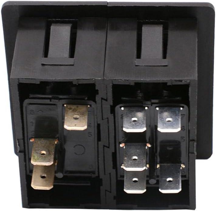 KESOTO Rocker Switch Panel Housing Bracket ARB 2 Car Car Boat Car Liner