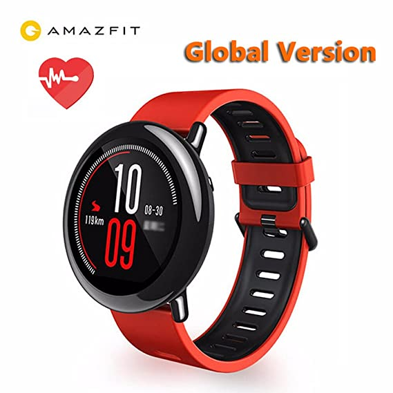 1175313686 Image Unavailable. Image not available for. Color  AMAZFIT Xiaomi Huami  Smart Sports Watch Bluetooth Music