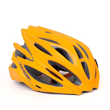Qarape Casco de bicicleta de color fluorescente Casco de ciclismo de moda nuevo Casco de bicicleta