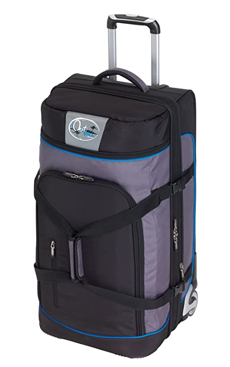 CheckIn Outbag Sports Bolsa de viaje a 2 ruedas L 72 cm schwarz/blau