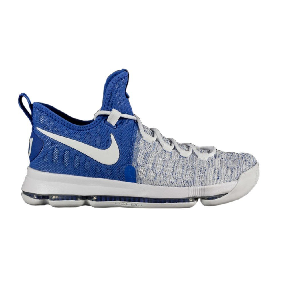 NIKE Zoom KD 9 GS - 855908411 - Color White-Blue - Size: 3.5