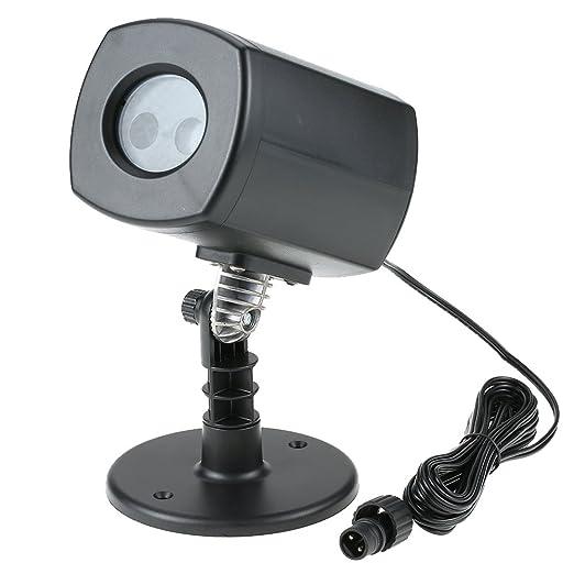 Tomshine Proyector LED Lámpara de Césped Patrón Dinámico y ...