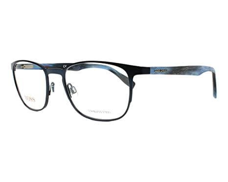83eb6ef6f24 Image Unavailable. Image not available for. Color  Boss Orange frame (BO-0304  HW8) Metal - Acetate Metalic ...
