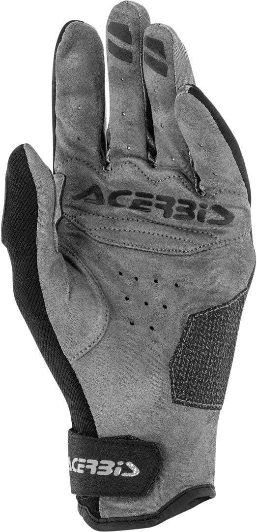 Acerbis Carbon G 3 0 Motorradhandschuhe Schwarz Grau Auto
