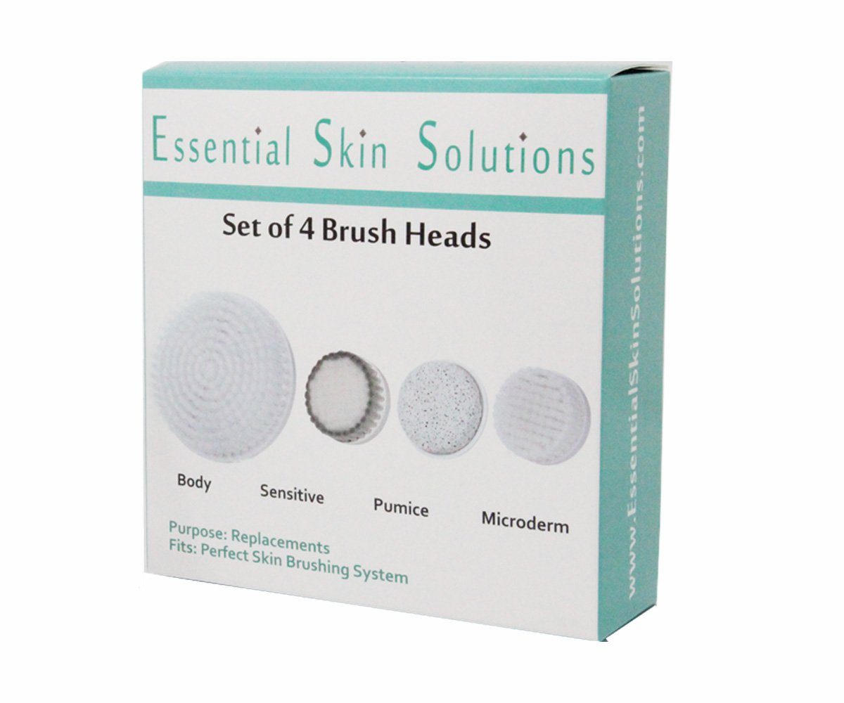 Amazon Com Essential Skin Solutions Face And Body Brush