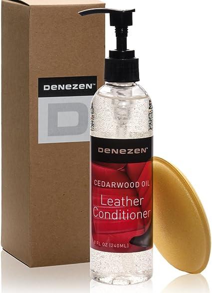 Acondicionador de aceite de madera de cedro para cuero, para ...
