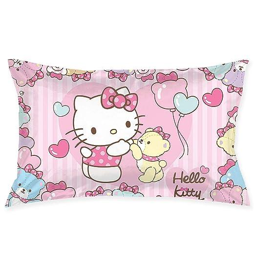 CHLING Fundas de Almohada Hello Kitty con Oso Funda de cojín ...