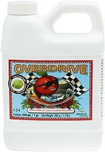 Advanced Nutrients 3750-13 Overdrive Fertilizer 500 mL, 0.5 Liter