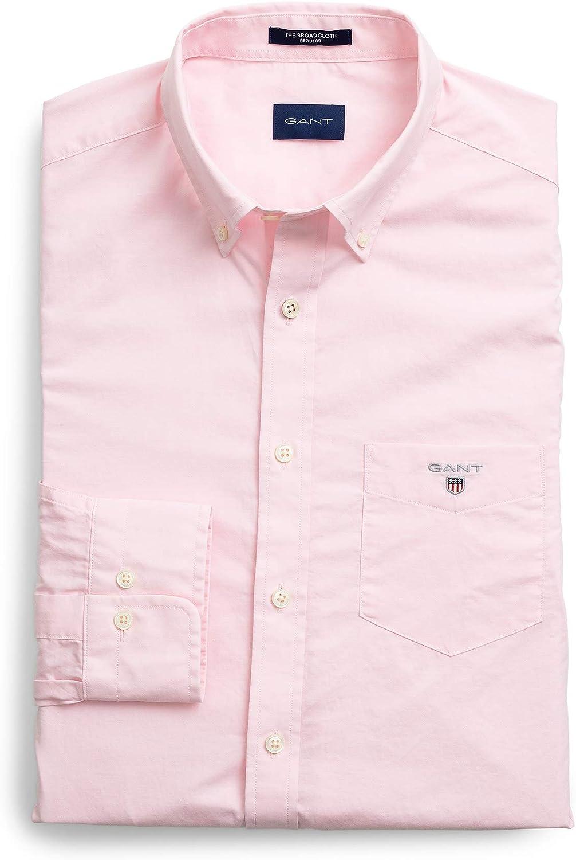 GANT The Regular Broadcloth Shirt Camisa para Hombre