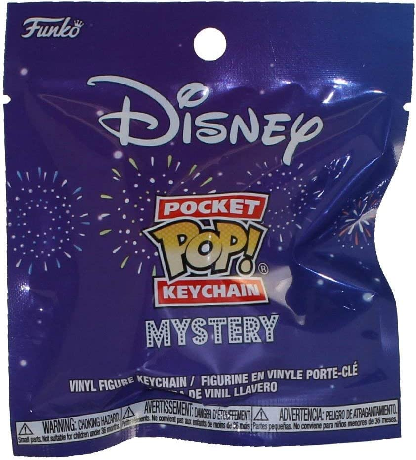 Funko Mystery Pocket POP Disney Keychain One Mystery Keychain
