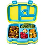 (Citrus Yellow) - Bentgo Kids Brights - Leak-Proof, 5-Compartment Bento-Style Kids Lunch Box - Ideal Portion Sizes for Ages 3 to 7 - BPA-Free and Food-Safe Materials (Citrus Yellow)