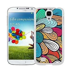 BINGO Funniest illustration Classic Flowers Design Unique Watercolor Samsung Galaxy S4 i9500 Case White Cover wangjiang maoyi