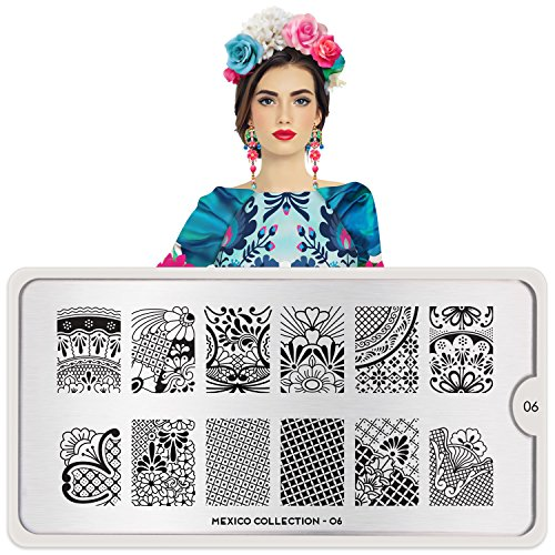 MoYou-London Nail Stamping Plate Mexico Collection 06 Shipping within 24h US Stock