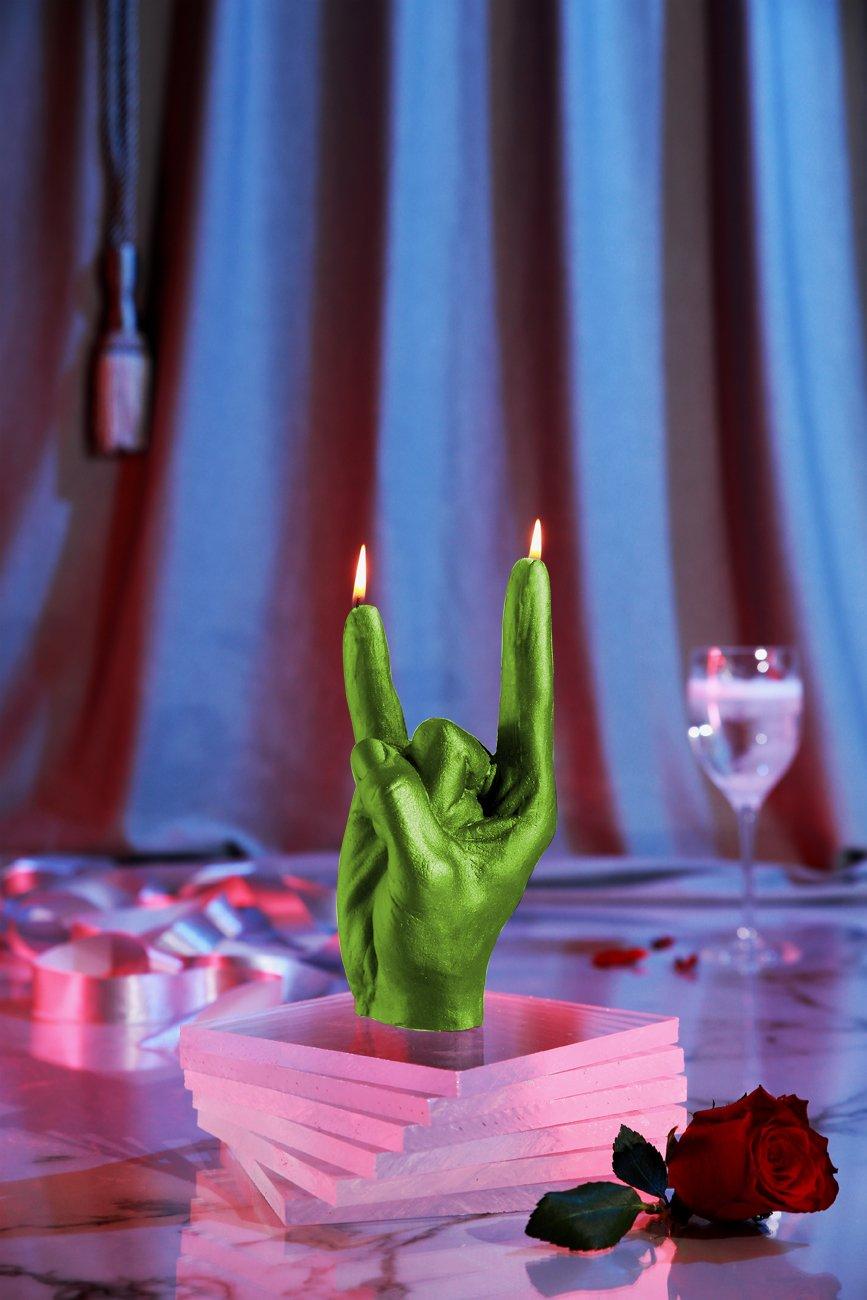 Candellana Candles N' Roll Candellana- Rock n'Roll Candle-Lime, by Candellana Candles