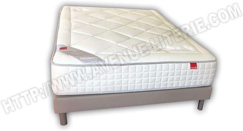 Epeda Conjunto Literie 140 x 190 Calisson colchón + somier ...