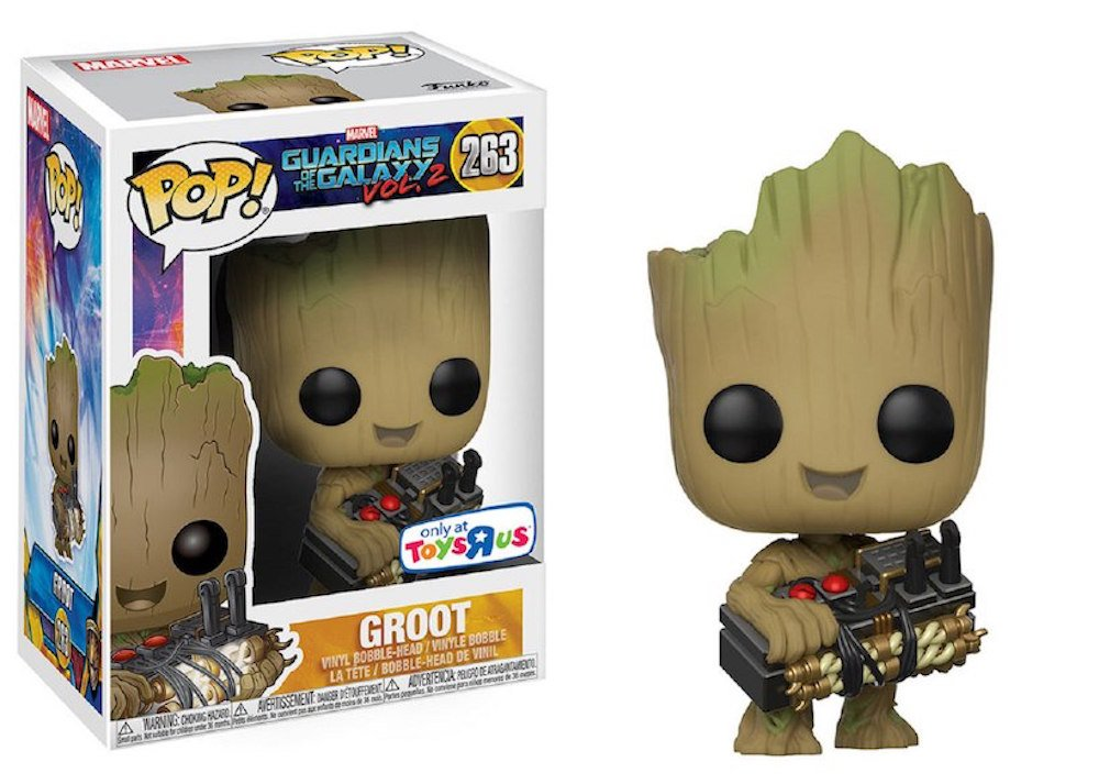 Funko Pop! Guardians of the Galaxy Vol. 2 Groot #263 (Holding Bomb)