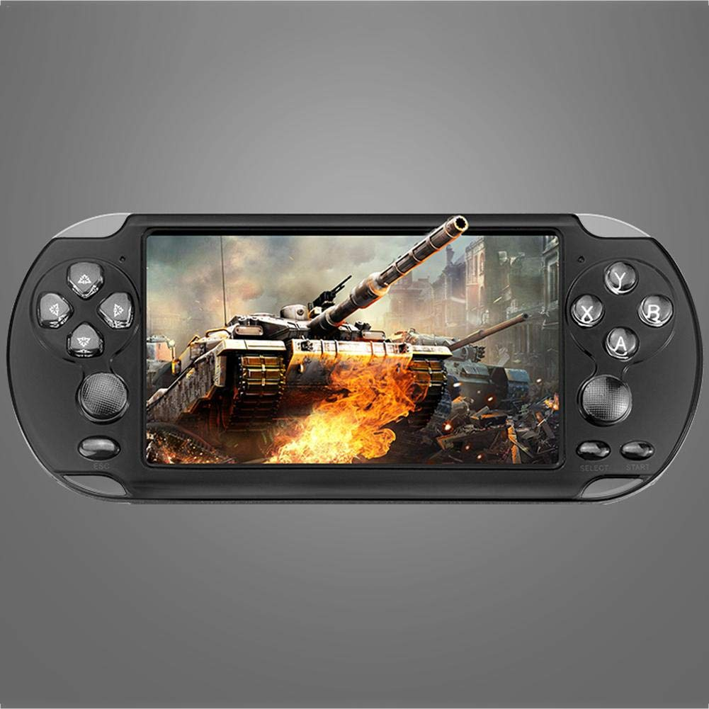 Betfandeful X9-s 8G Retro Game Console Colorful Screen Children's Puzzle 5.1Inch PSP Double Rocker Handheld Game Console by Betfandeful (Image #2)