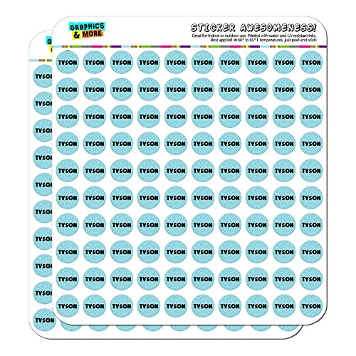 tyson-name-planner-calendar-scrapbooking-crafting-stickers-blue-speckles-200-05-clear-stickers