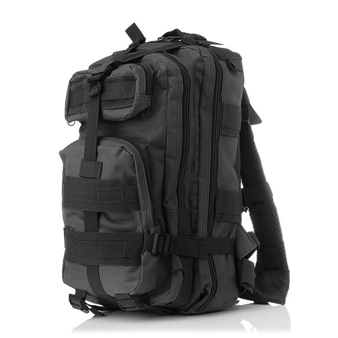 hapileap 3P táctico mochila - Mochila de senderismo supervivencia Militar bolsa para senderismo Camping senderismo 35L - Heavy Duty Mochilas, ...