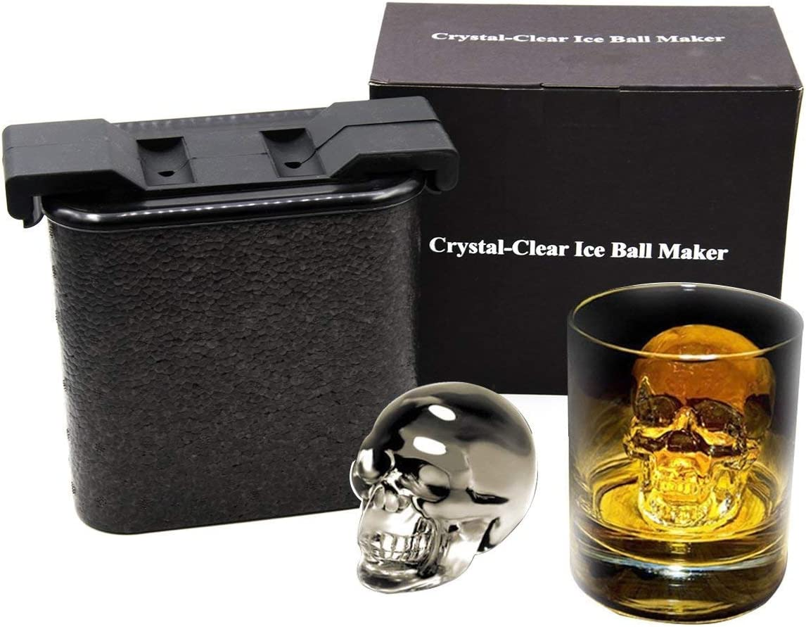 Cystal Clear Ice Skull Maker