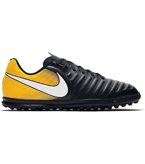 Nike Jr. Tiempox Rio IV TF - Zapatillas de fútbol Sala de Material Sintético para niño Naranja Arancione: Amazon.es: Zapatos y complementos