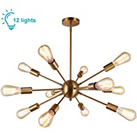 Lightess Sputnik Iluminación Lámpara de Techo Colgante Salón