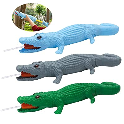 FunPa 3PCS Kids Water Blaster Crocodile Shape Pool Water Toy Beach Squirt Toy for Kids: Sports & Outdoors