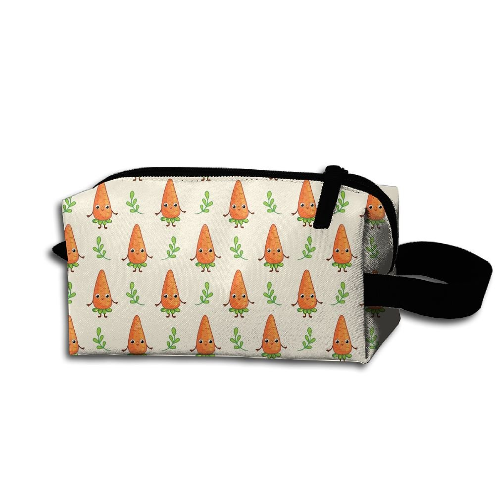 109c8c31b8a1eb Wnihao Cartoon Carrot Portable Make-up Receive Bag Hand Cosmetic Bag Makeup  Bag Sewing Kit