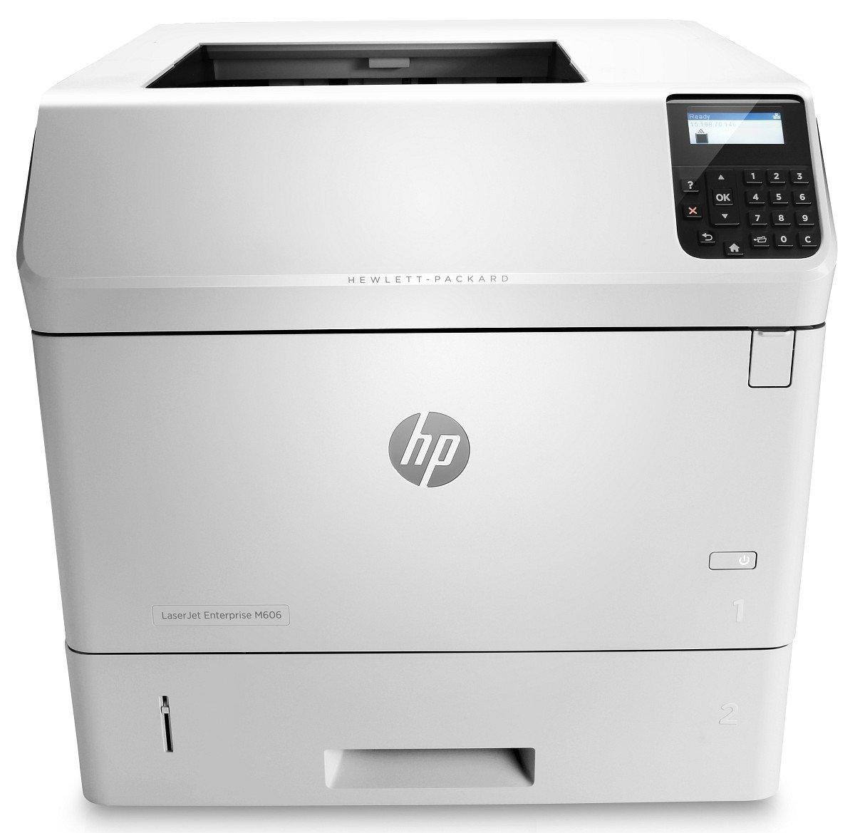 HP Monochrome LaserJet Enterprise M606dn Printer w/ HP FutureSmart Firmware, (E6B72A)