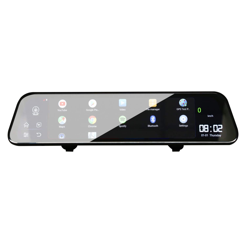 Shumo Specchio 12 Pollici Android 8.1 Adas Dash Cam Dvr per Auto Camera GPS Navi Fhd Video Recorder 4G WiFi Dvr Mirror