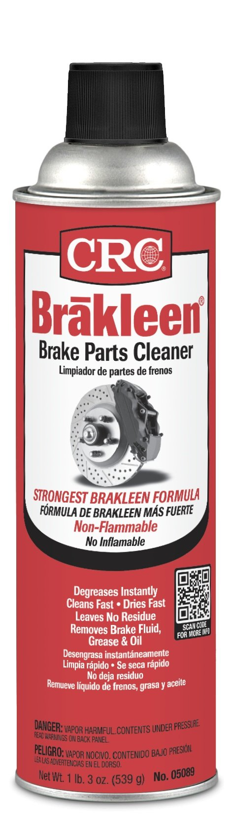 Brakleen® Brake Parts Cleaners - 20oz brakleen cleaner [Set of 12]