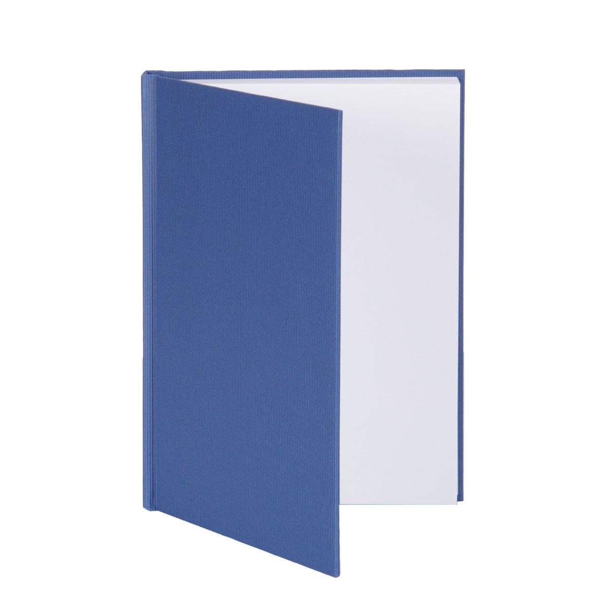 Rössler Papier - - S.O.H.O. Blau - gebundenes Notizbuch DIN A5 - Liefermenge  5 Stück