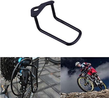 Bicycle Cycling Rear Gear Derailleur Protector Guard Steel Frame Bike Accessory